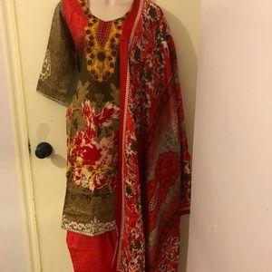 Indian stitched salwar kameez